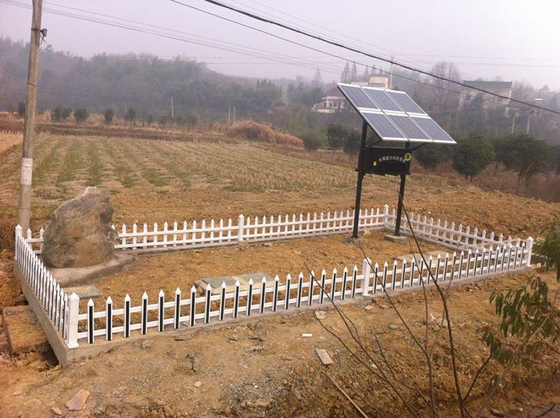 广德杨滩太阳能污水处理设备