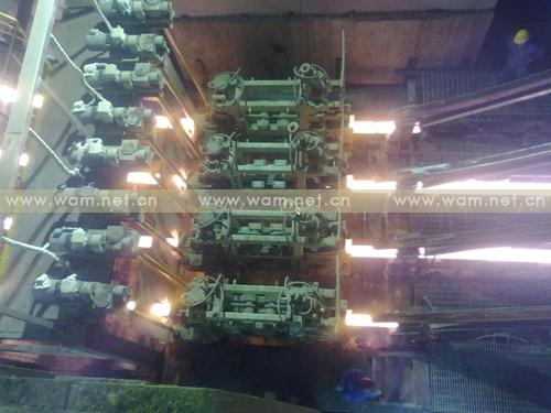 工程图片-山西中阳钢铁有限公司新建半径9米4流方坯连铸机-1号机,2010年9月投产