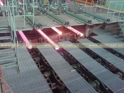 工程图片-山西中阳钢铁有限公司新建半径9米4流方坯连铸机-2号机,2010年9月投产