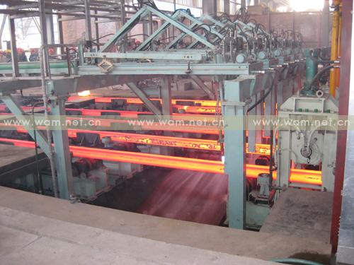 工程图片-江苏鸿泰钢铁有限公司新建半径8米6流方坯连铸机-2010年12月投产