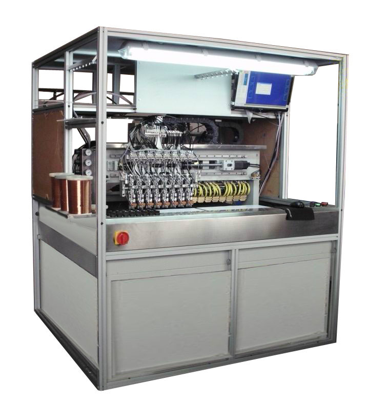 RXZR-208头四轴埋线焊接一体机