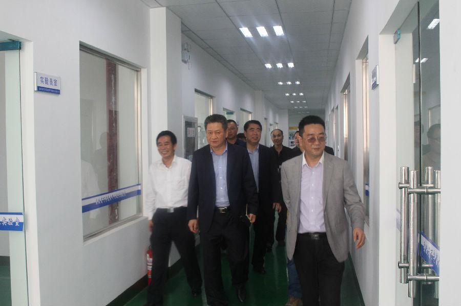 中能東道-北京科技有限公司總裁曹季遠一行來司考察