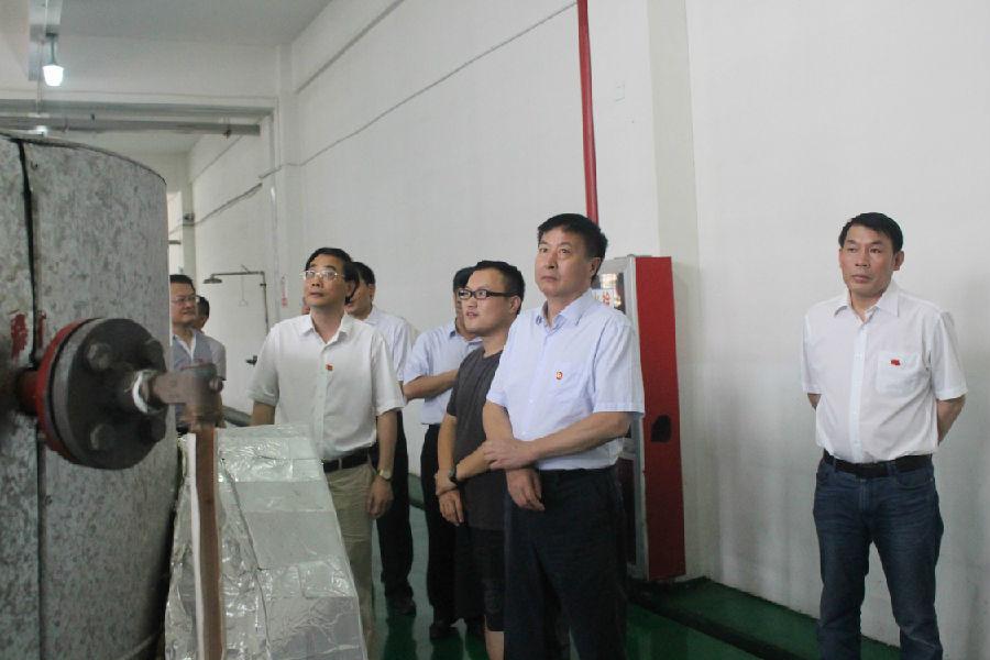宣城市委书记姚玉舟来我司调研2