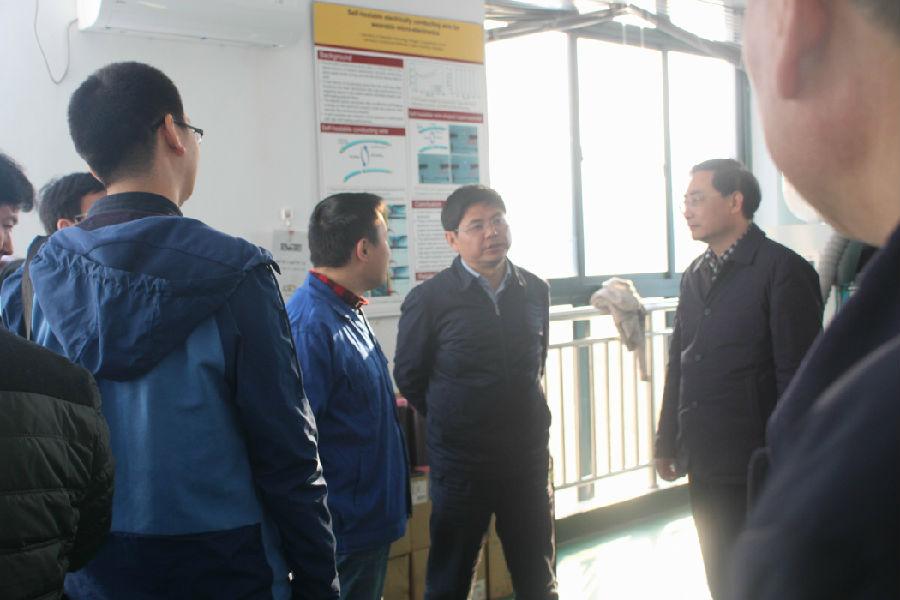 省发改委党组成员吴劲松副主任前来公司实地调研
