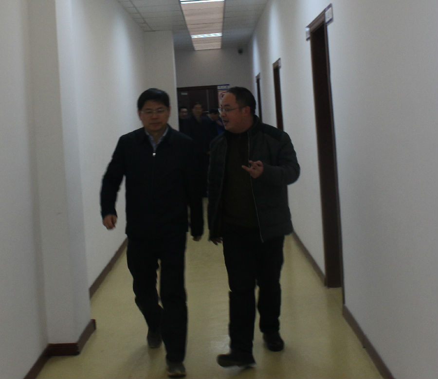 省发改委党组成员吴劲松副主任前来公司实地调研3