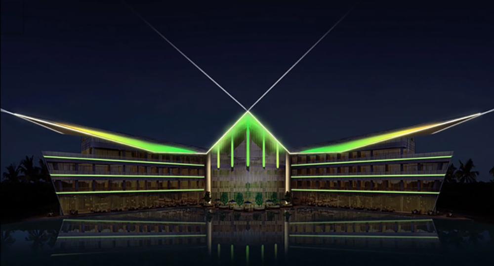 led车顶灯_福建香山湾索菲特酒店项目-深圳市金海滨实业有限公司