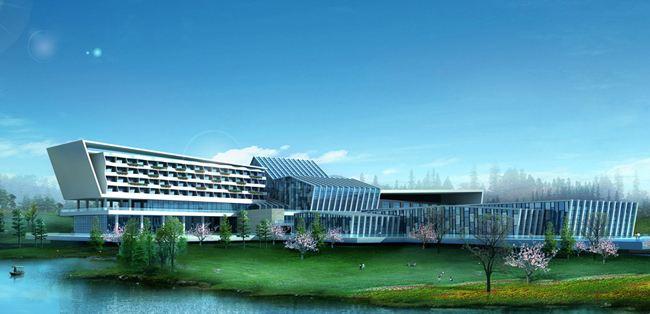 黑龙滩长岛天堂洲际酒店天顶玻璃贴膜