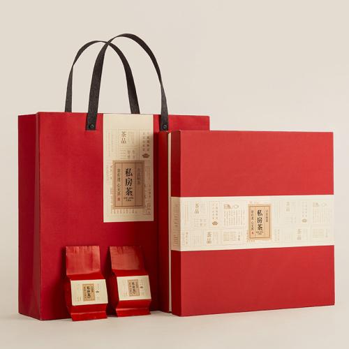 精美牛皮紙茶葉禮盒包裝1