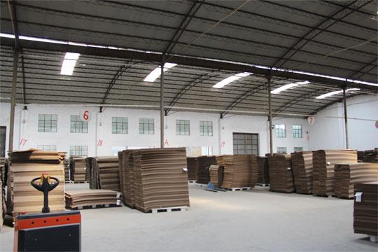 郑州纸板厂-制品堆栈