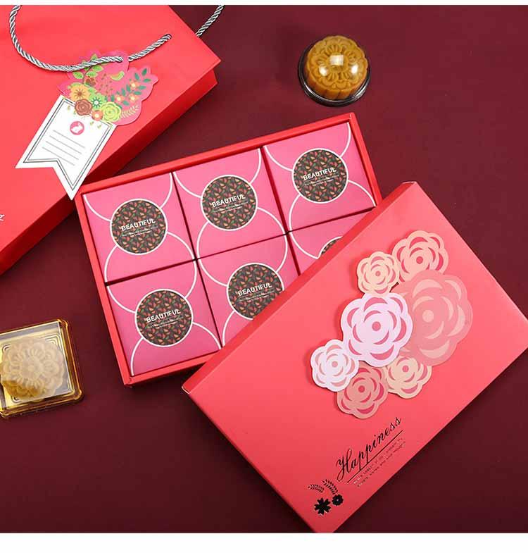 小清新月饼礼品盒小3