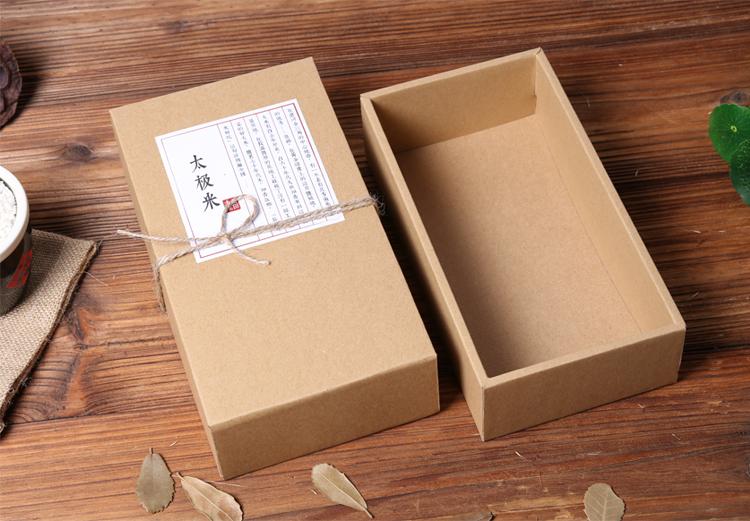 加厚瓦楞牛皮紙禮品盒詳情1