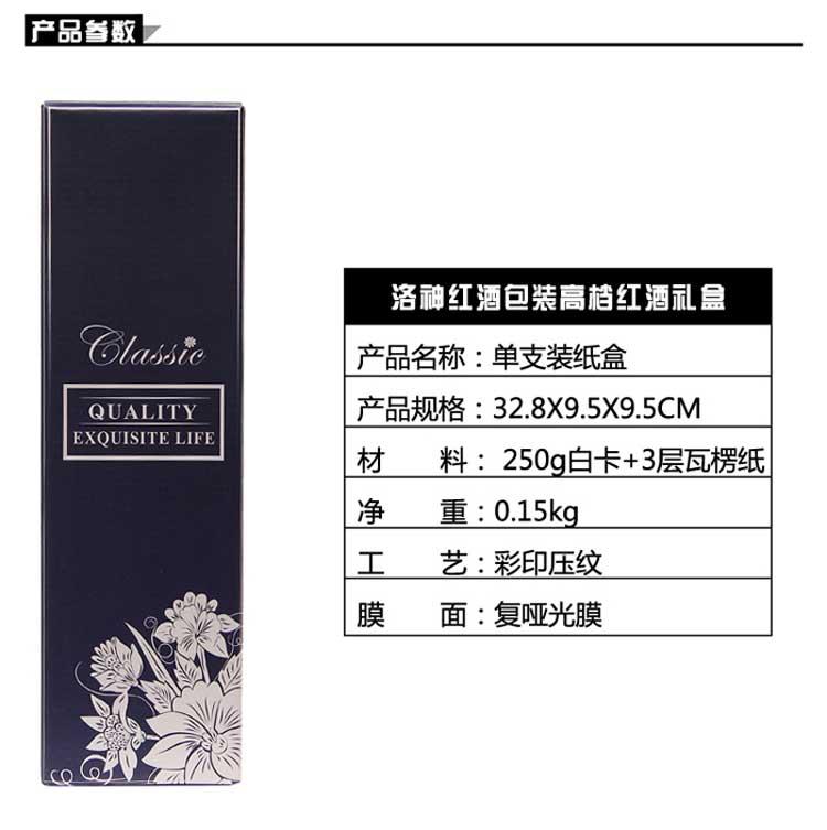 高檔紅酒禮盒詳情2