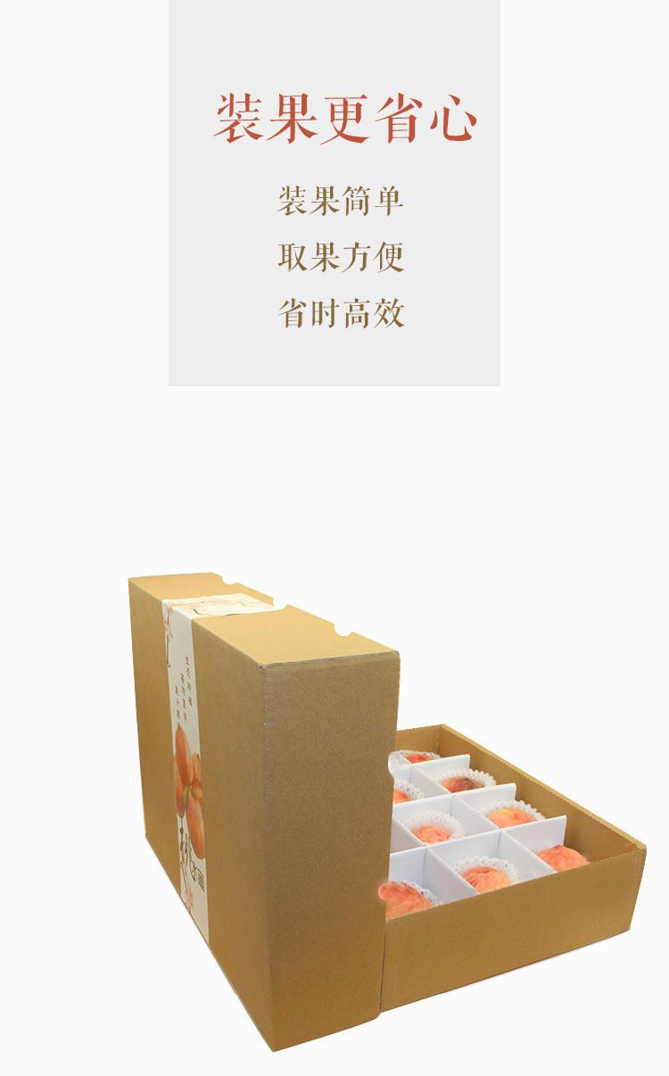 12粒裝水蜜桃禮盒包裝詳情3