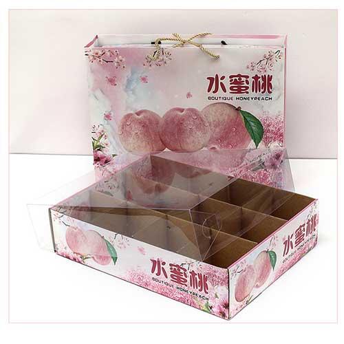 水蜜桃礼盒包装小5