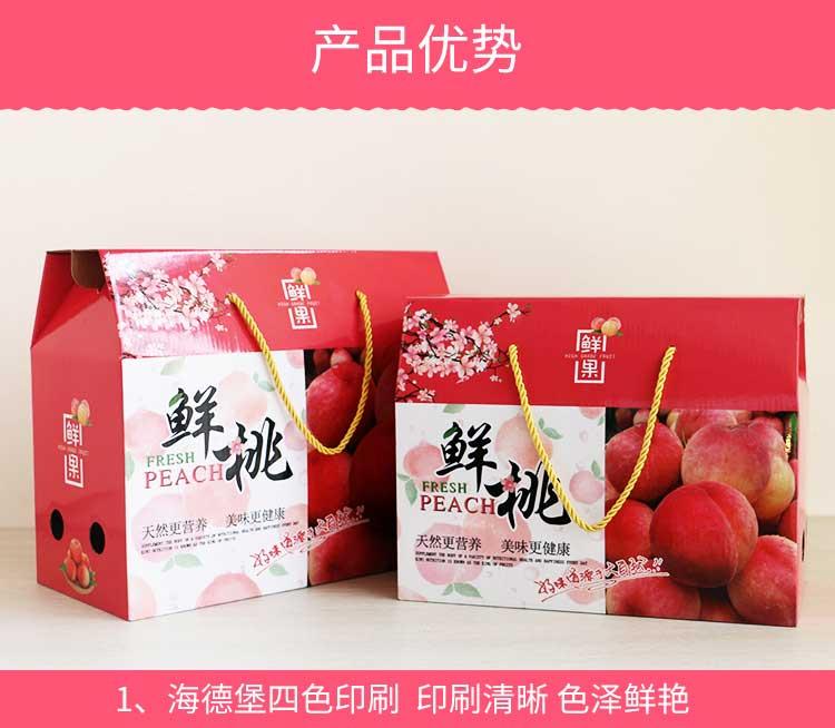 桃子包裝禮盒詳情4