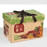 通用牛皮紙水果禮盒小2