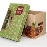 通用牛皮紙水果禮盒小4