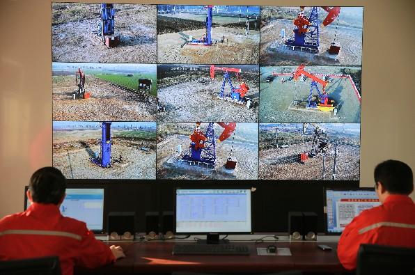 中原油田采油廠采油管理區數字化項目