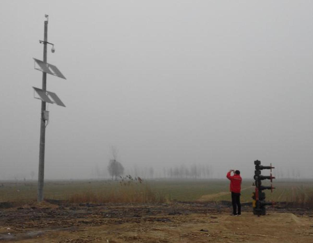 中原油田無線視頻監控項目