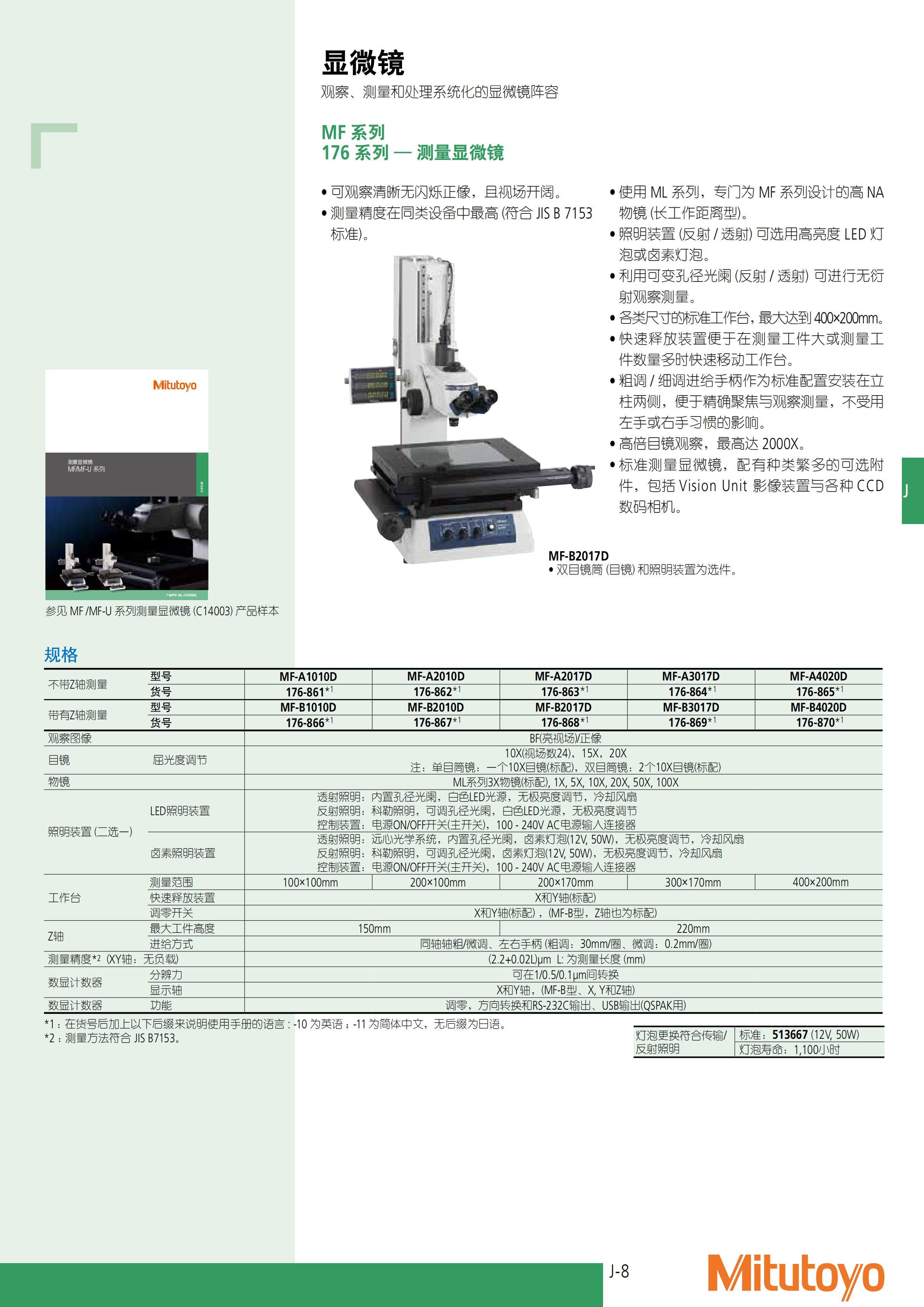 工业显微镜-三丰彩页_502