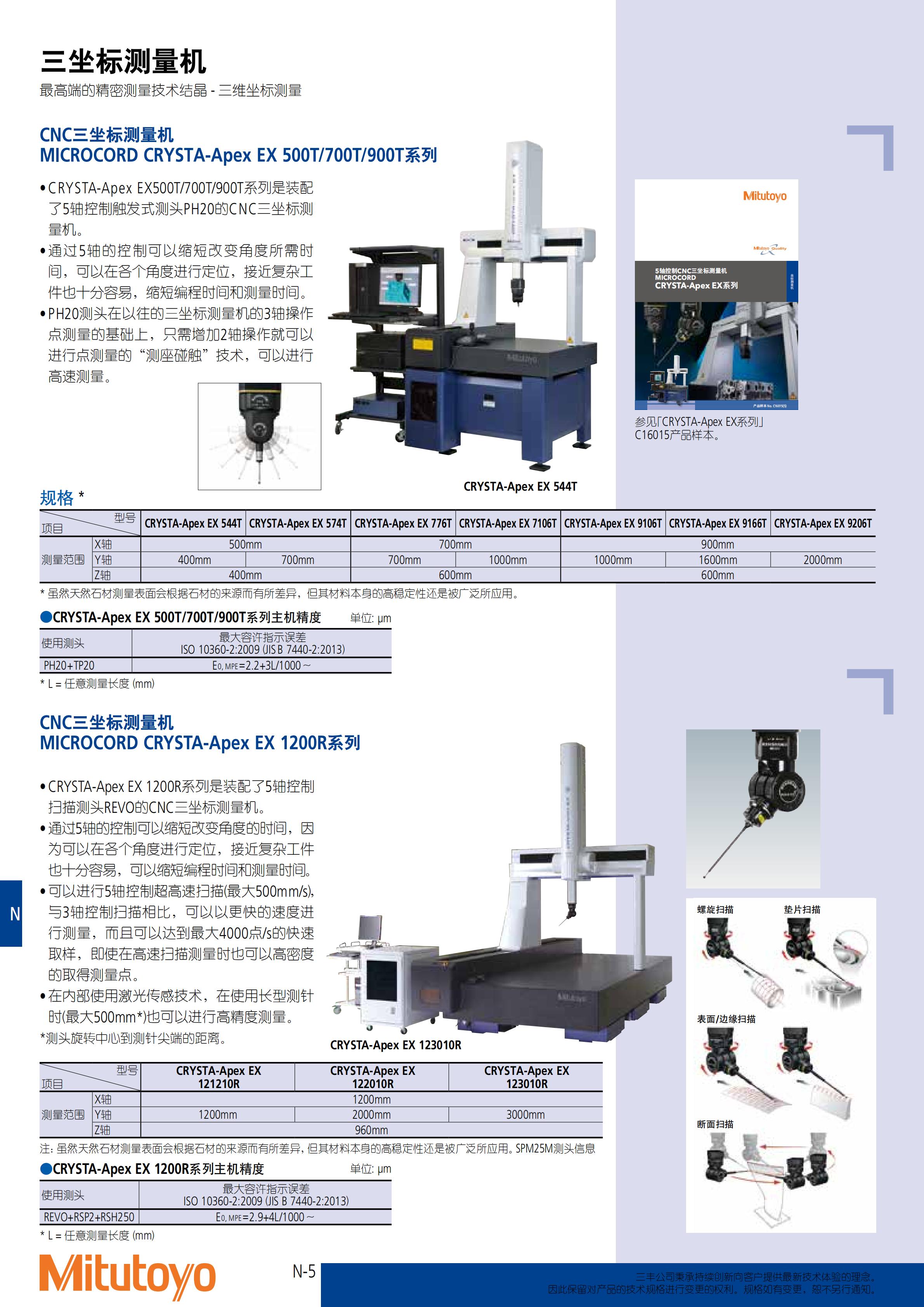 三坐标测量仪-三丰彩页_595