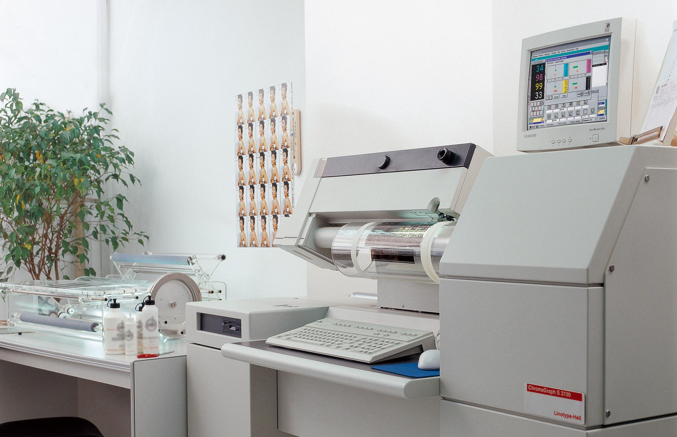 电分扫描设备用图
