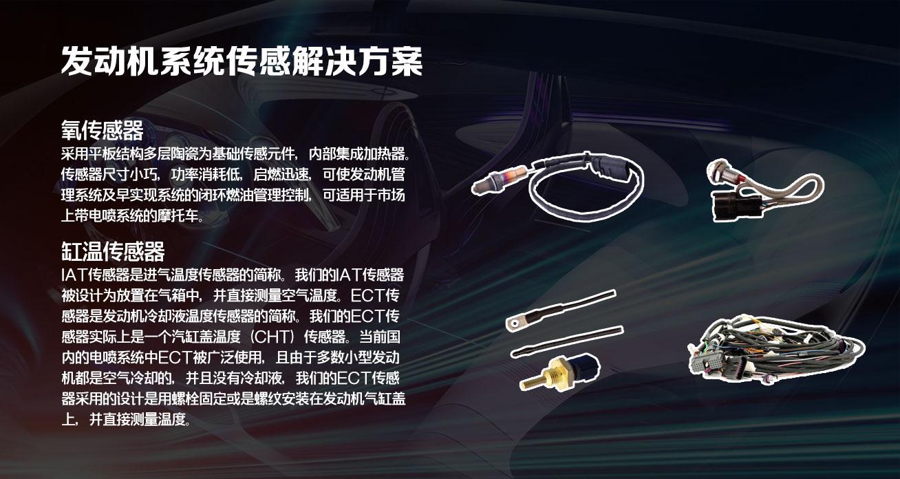 電噴系統傳感解決方案2