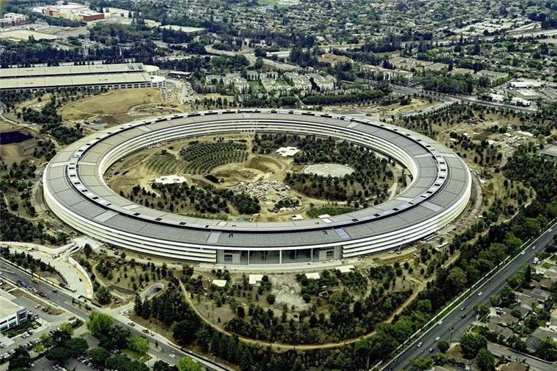 美國蘋果總部建筑圖