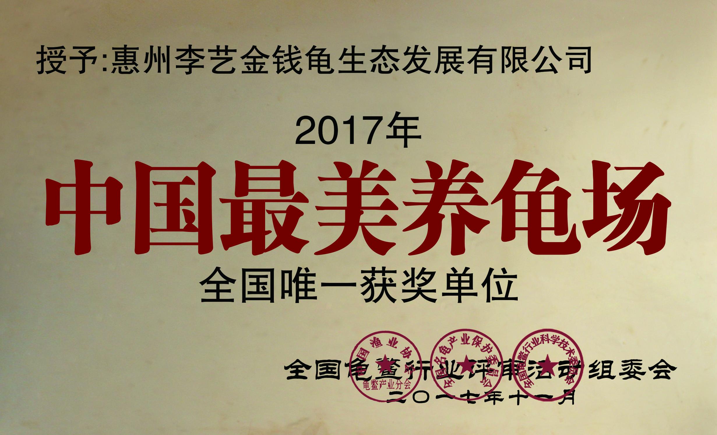 中國最美龜場