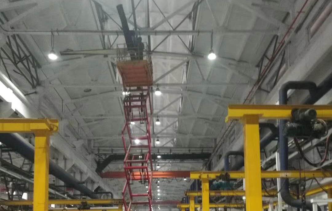 工業節能大風扇年度安全檢查