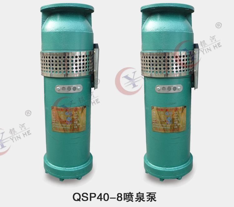 铸铁材质高扬程喷泉泵QSP40-8