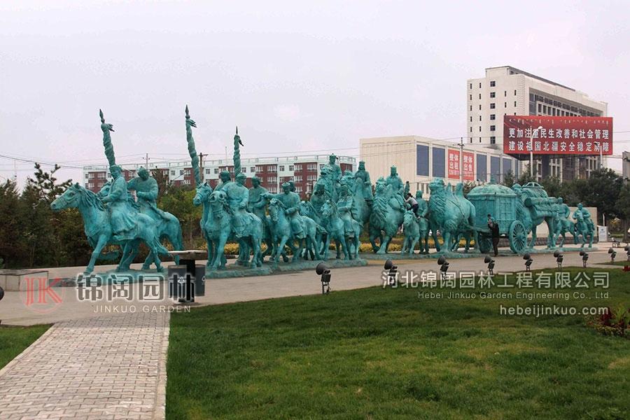 大型铜雕塑-TDX-1005