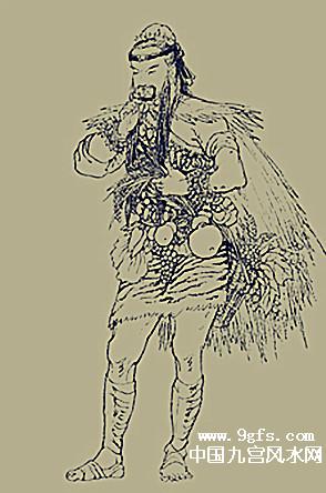 农业和医药的发明者神农图片