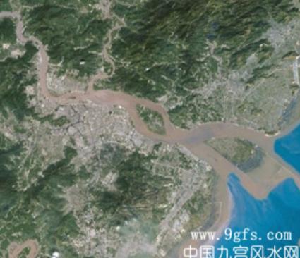 温州地理风水图