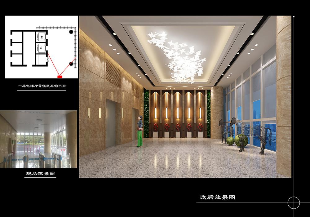 4一层电梯间