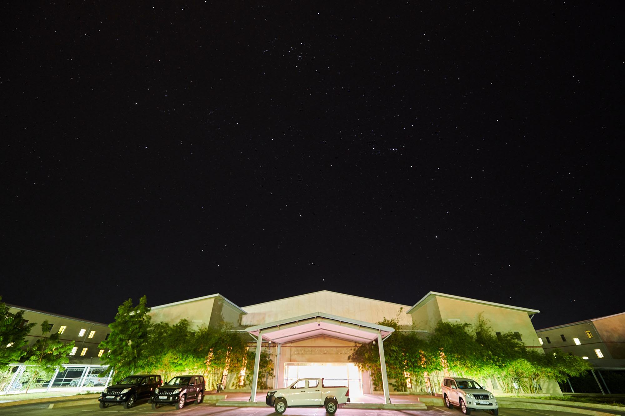 NRC生活區夜景