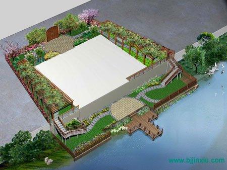 庭院绿地快题设计