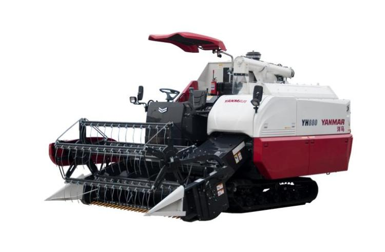 洋马YH880-4LZ-3.5A全喂入稻麦联合收割机