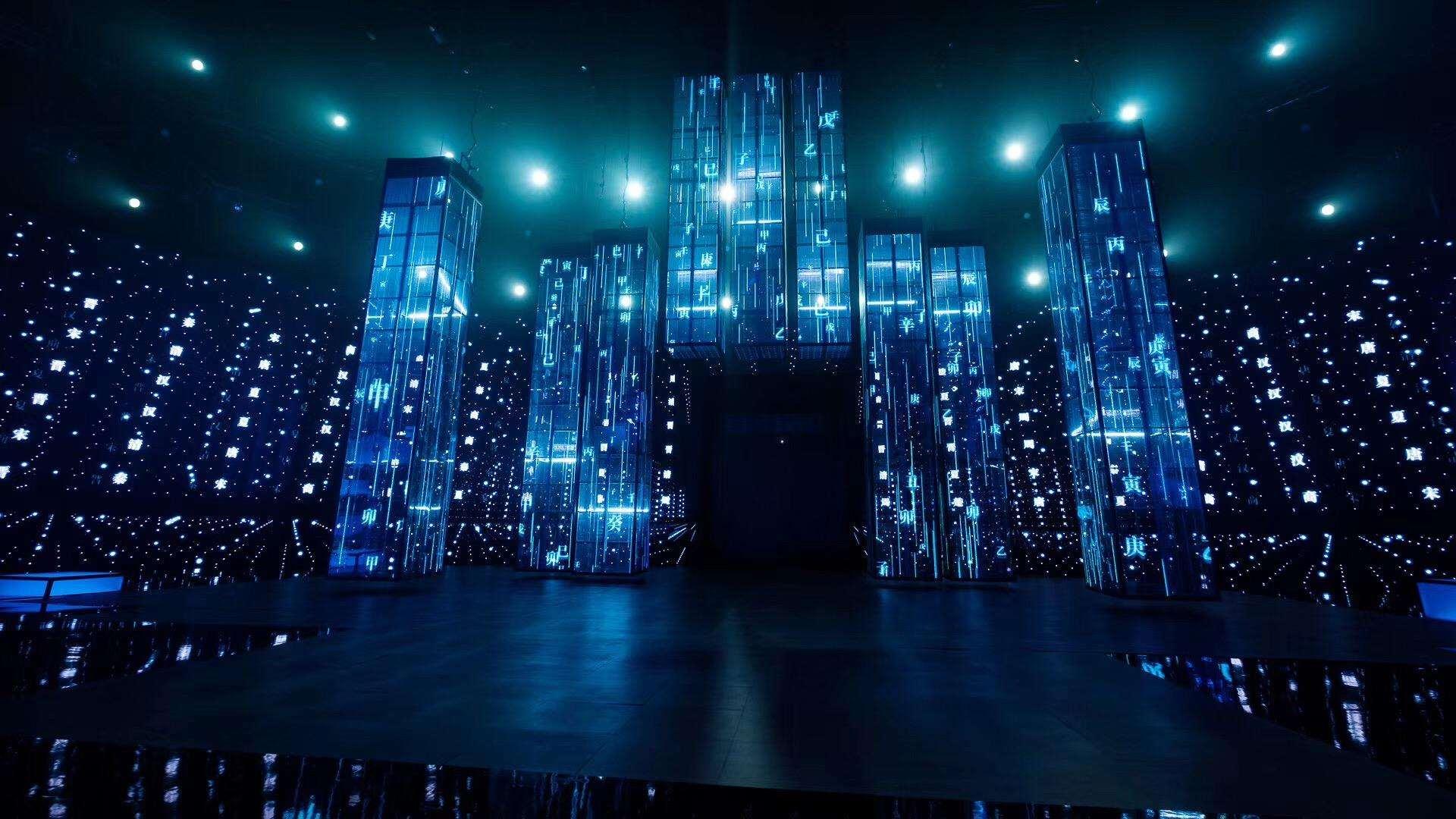 LED透明屏耗电量及费用评估,西安LED显示屏租赁