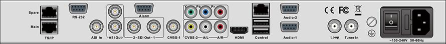 DCH-5300P后面板