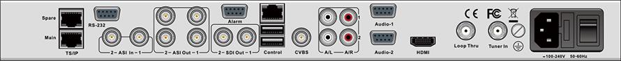 DCH-5200P-后面板