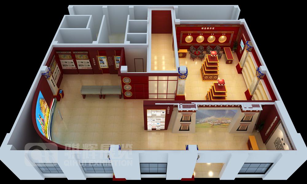 展厅设计装修展位设计