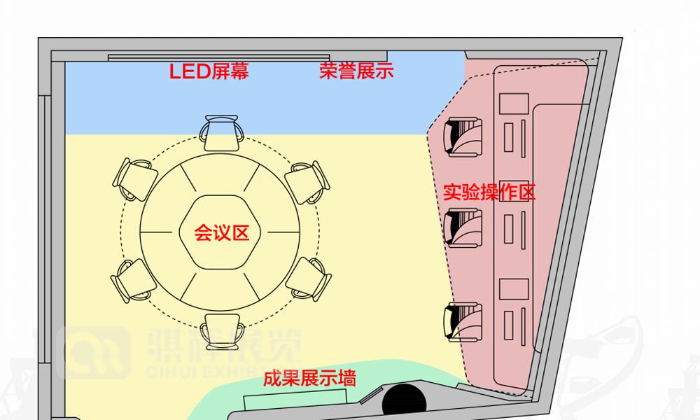 数字多媒体成都展厅设计搭建