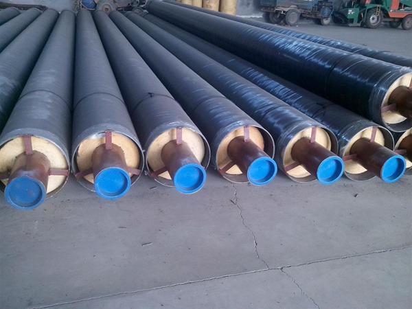 钢套钢蒸汽保温管-1