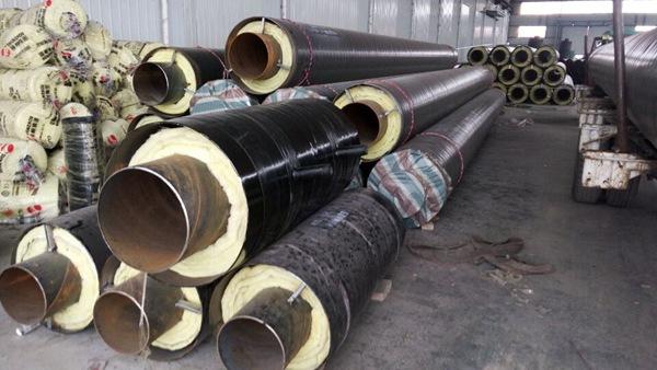 钢套钢蒸汽保温管-3
