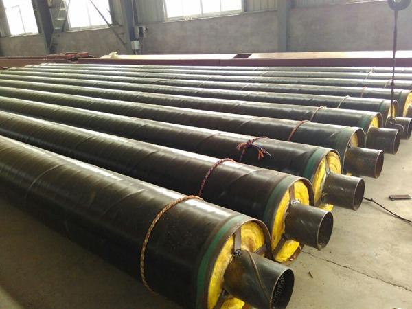 钢套钢蒸汽保温管-5