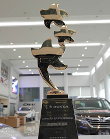 中基凯丰-2017东本年度售后经营奖