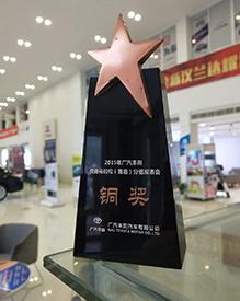 中基凯丰-广丰2015改善马拉松售后铜奖