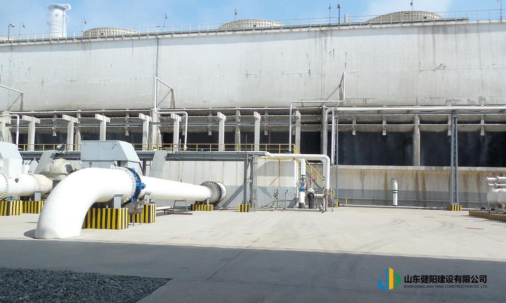 1-2煙臺萬華丙烷脫氫第五循環水站