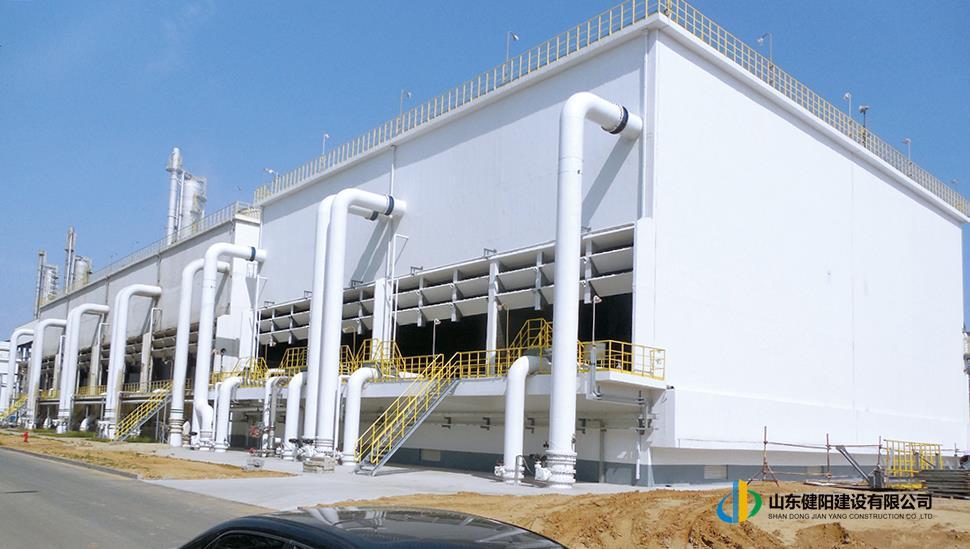 1-4煙臺萬華硝苯項目第二循環水擴建工程